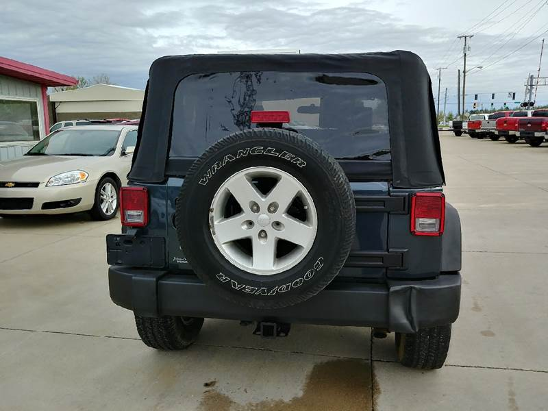 2008 Jeep Wrangler for sale at Johnson's Auto Sales Inc. in Decatur IN