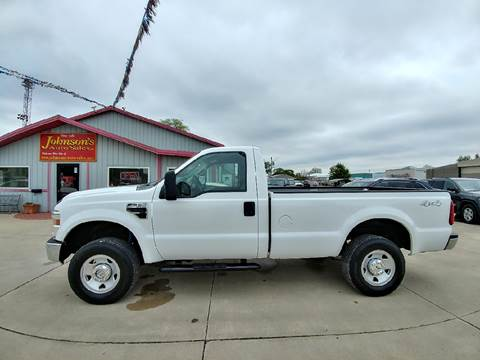 2008 Ford F-250 Super Duty for sale at Johnson's Auto Sales Inc. in Decatur IN