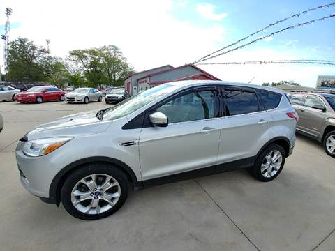 2013 Ford Escape for sale at Johnson's Auto Sales Inc. in Decatur IN
