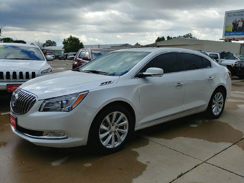 2015 Buick LaCrosse for sale at Johnson's Auto Sales Inc. in Decatur IN