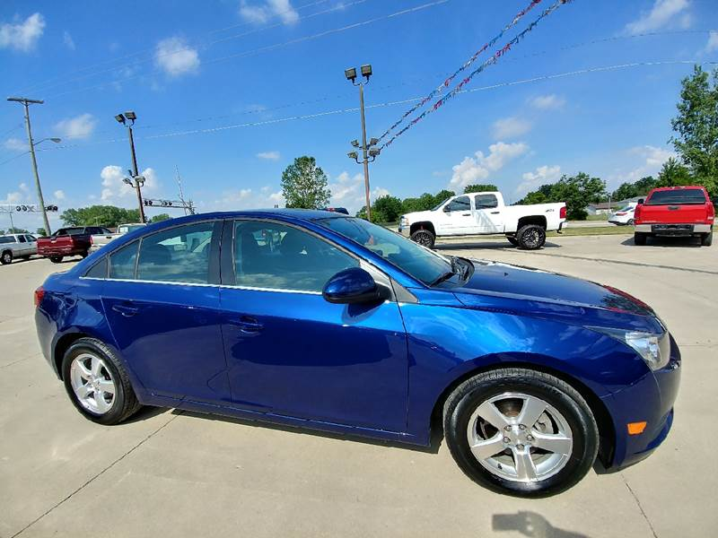 2013 Chevrolet Cruze for sale at Johnson's Auto Sales Inc. in Decatur IN