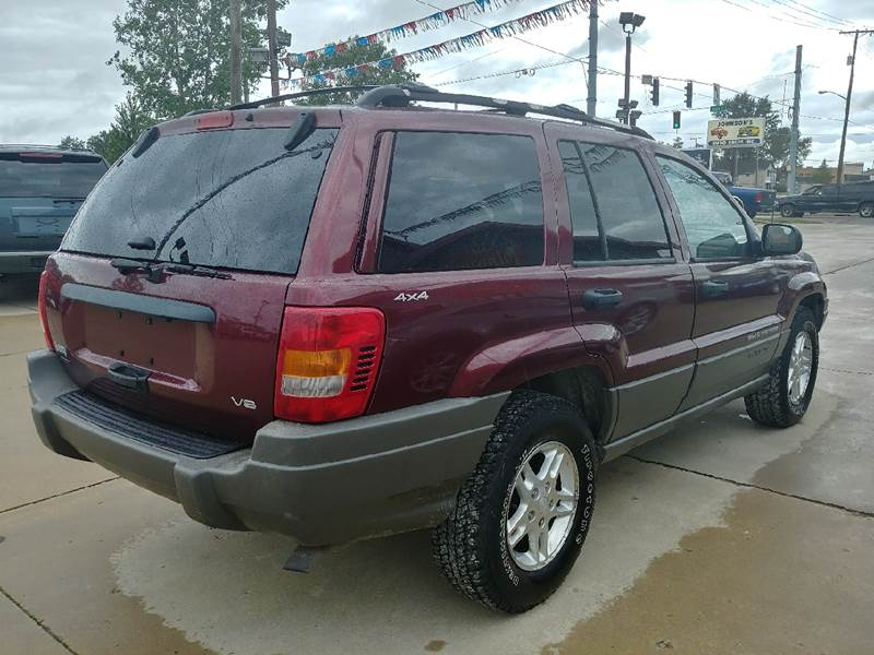 1999 Jeep Grand Cherokee for sale at Johnson's Auto Sales Inc. in Decatur IN
