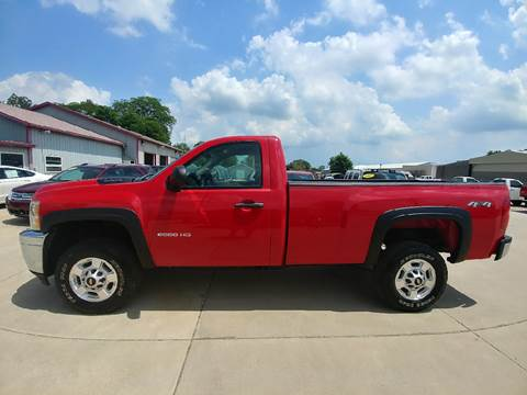 2011 Chevrolet Silverado 2500HD for sale at Johnson's Auto Sales Inc. in Decatur IN
