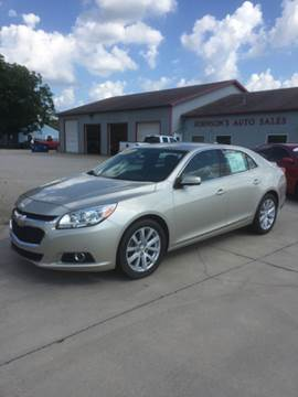 2014 Chevrolet Malibu for sale at Johnson's Auto Sales Inc. in Decatur IN