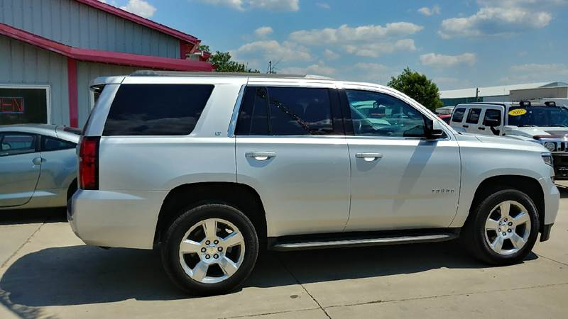 2015 Chevrolet Tahoe for sale at Johnson's Auto Sales Inc. in Decatur IN