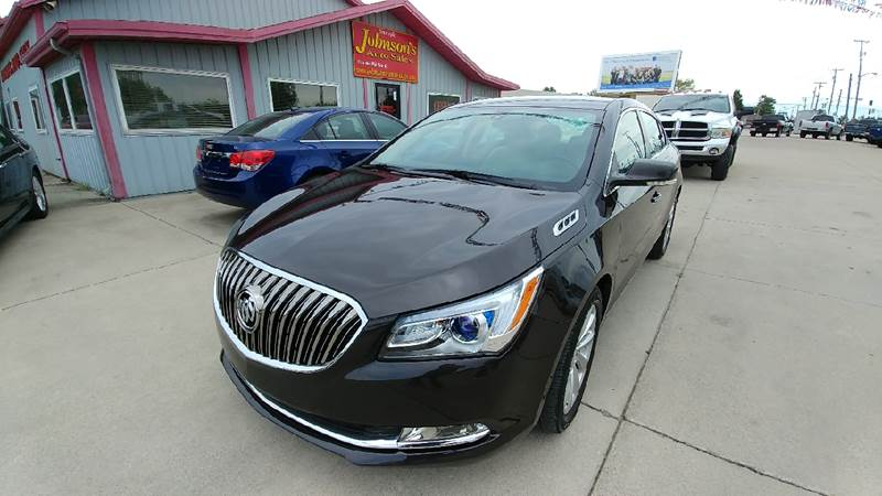 2014 Buick LaCrosse for sale at Johnson's Auto Sales Inc. in Decatur IN