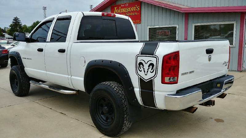 2004 Dodge Ram Pickup 2500 for sale at Johnson's Auto Sales Inc. in Decatur IN