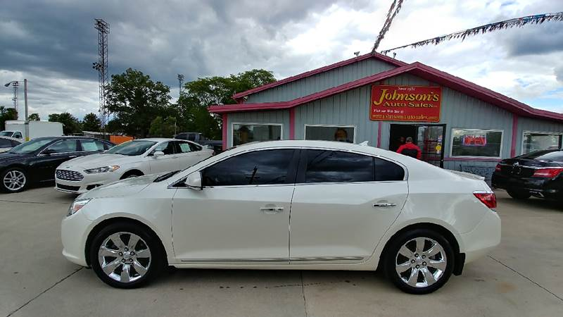 2012 Buick LaCrosse for sale at Johnson's Auto Sales Inc. in Decatur IN