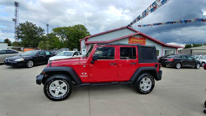 2007 Jeep Wrangler Unlimited for sale at Johnson's Auto Sales Inc. in Decatur IN