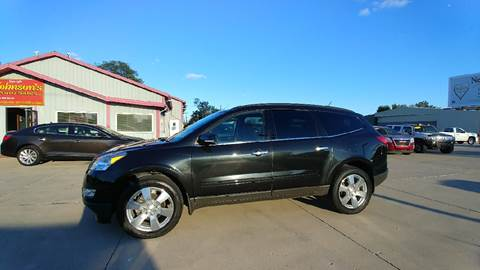 2012 Chevrolet Traverse for sale at Johnson's Auto Sales Inc. in Decatur IN