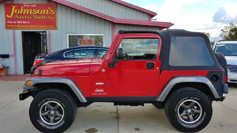 2004 Jeep Wrangler for sale at Johnson's Auto Sales Inc. in Decatur IN