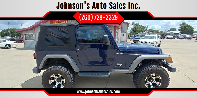 2006 Jeep Wrangler For Sale At Johnsonu0027s Auto Sales Inc. In Decatur IN