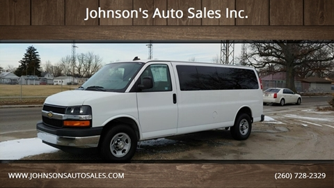 2017 Chevrolet Express Passenger for sale in Decatur, IN