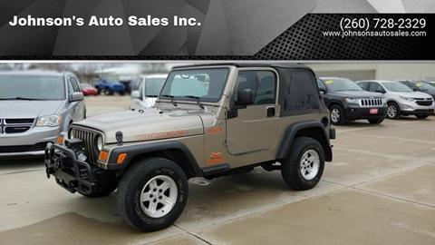 2006 Jeep Wrangler for sale in Decatur, IN