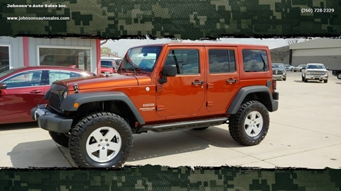 2014 Jeep Wrangler Unlimited for sale in Decatur, IN