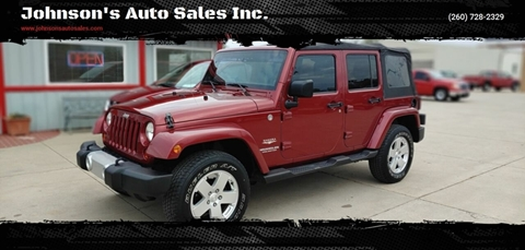 2011 Jeep Wrangler Unlimited for sale in Decatur, IN