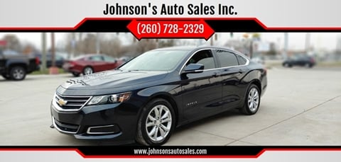 2016 Chevrolet Impala for sale at Johnson's Auto Sales Inc. in Decatur IN