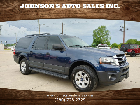 2015 Ford Expedition EL for sale at Johnson's Auto Sales Inc. in Decatur IN