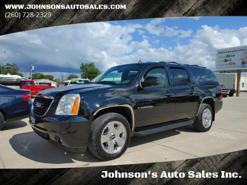 2007 GMC Yukon XL for sale at Johnson's Auto Sales Inc. in Decatur IN