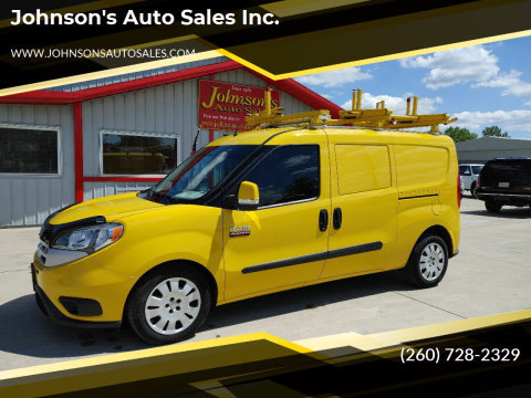2016 RAM ProMaster City Cargo for sale at Johnson's Auto Sales Inc. in Decatur IN