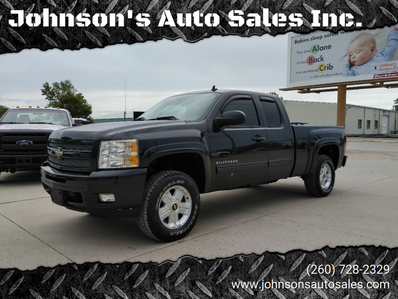 2010 Chevrolet Silverado 1500 for sale at Johnson's Auto Sales Inc. in Decatur IN