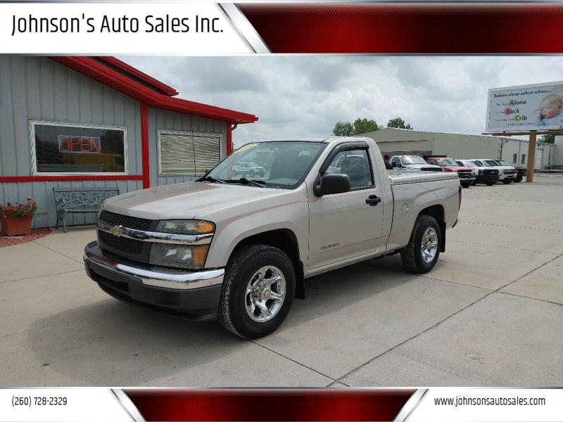 2004 Chevrolet Colorado for sale at Johnson's Auto Sales Inc. in Decatur IN