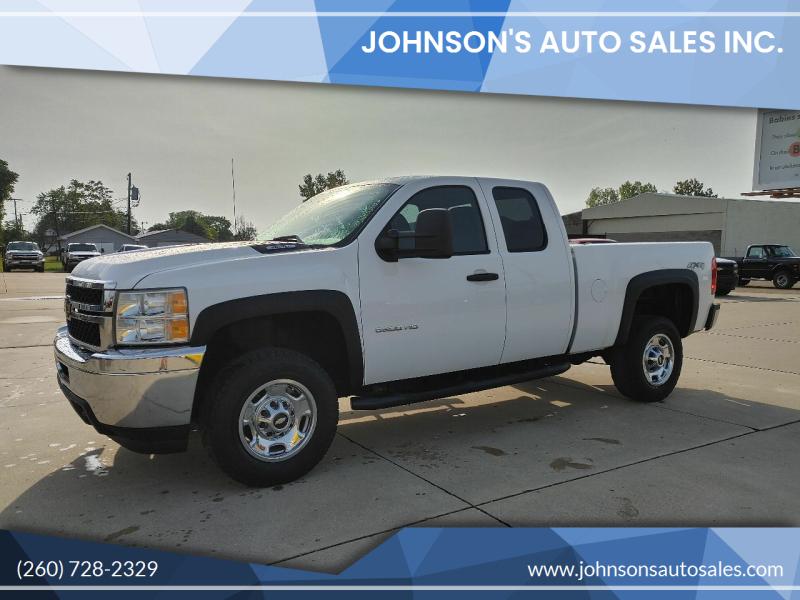 2011 Chevrolet Silverado 2500HD for sale at Johnson's Auto Sales Inc. in Decatur IN