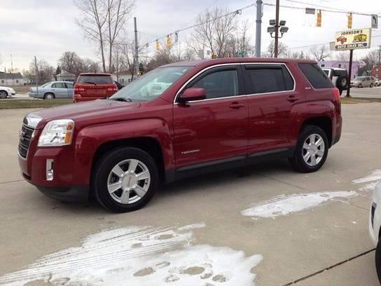 2011 GMC Terrain for sale at Johnson's Auto Sales Inc. in Decatur IN