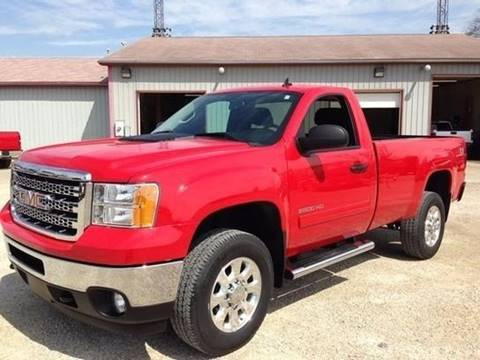 2012 GMC Sierra 2500HD for sale at Johnson's Auto Sales Inc. in Decatur IN