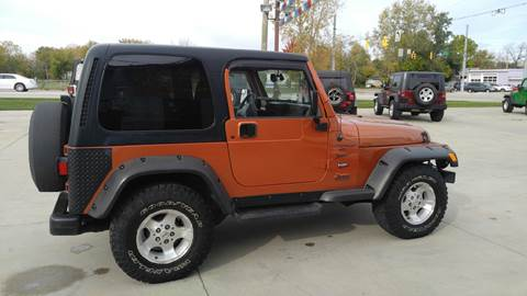 2001 Jeep Wrangler for sale at Johnson's Auto Sales Inc. in Decatur IN