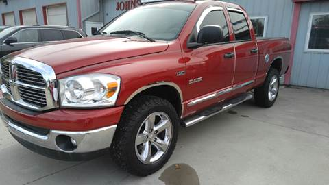 2008 Dodge Ram Pickup 1500 for sale at Johnson's Auto Sales Inc. in Decatur IN