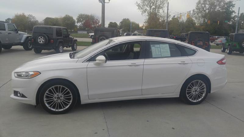 2014 Ford Fusion for sale at Johnson's Auto Sales Inc. in Decatur IN