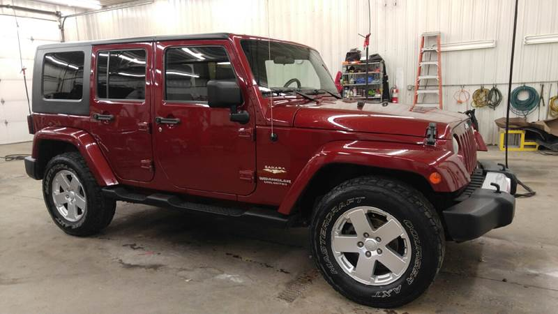 2008 Jeep Wrangler Unlimited for sale at Johnson's Auto Sales Inc. in Decatur IN