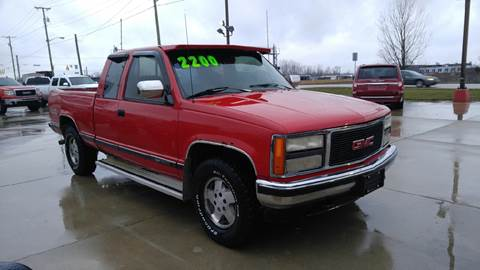 1993 GMC Sierra 1500 for sale at Johnson's Auto Sales Inc. in Decatur IN