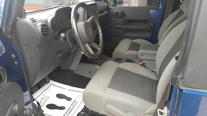 2009 Jeep Wrangler for sale at Johnson's Auto Sales Inc. in Decatur IN