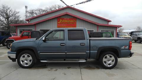 2007 Chevrolet Silverado 1500 Classic for sale at Johnson's Auto Sales Inc. in Decatur IN