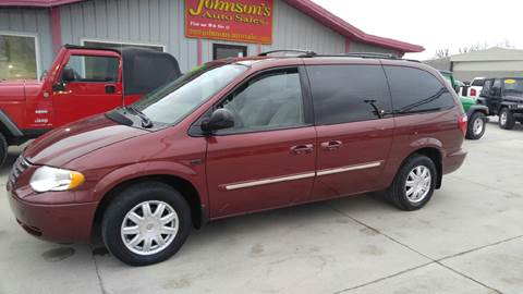 2007 Chrysler Town and Country for sale at Johnson's Auto Sales Inc. in Decatur IN