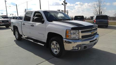 2012 Chevrolet Silverado 1500 for sale at Johnson's Auto Sales Inc. in Decatur IN