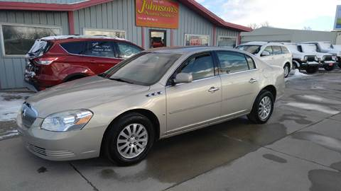 2007 Buick Lucerne for sale at Johnson's Auto Sales Inc. in Decatur IN