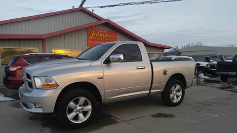 2011 RAM Ram Pickup 1500 for sale at Johnson's Auto Sales Inc. in Decatur IN