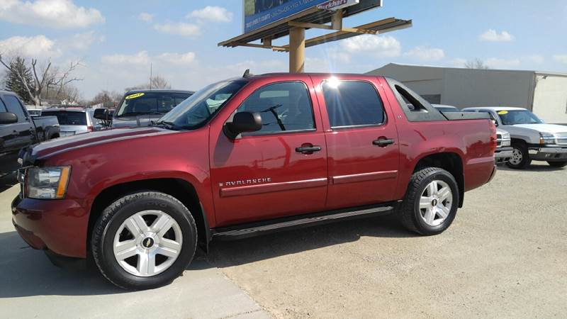 2008 Chevrolet Avalanche for sale at Johnson's Auto Sales Inc. in Decatur IN