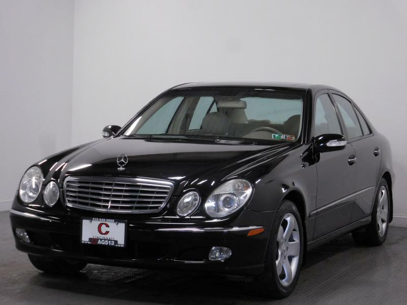 2004 Mercedes-Benz E-Class for sale at Cincinnati Automotive Group in Middletown OH