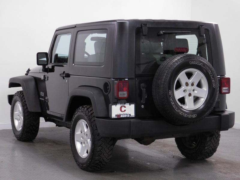 2007 Jeep Wrangler for sale at Cincinnati Automotive Group in Middletown OH