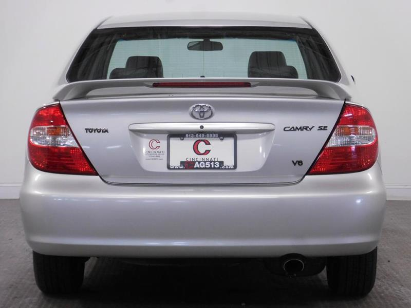 2003 Toyota Camry for sale at Cincinnati Automotive Group in Middletown OH