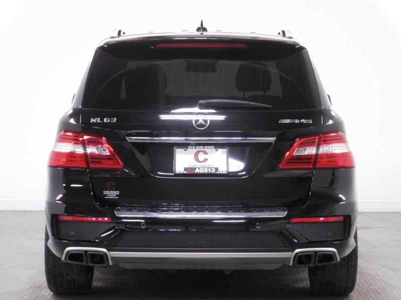 2012 Mercedes-Benz M-Class for sale at Cincinnati Automotive Group in Middletown OH