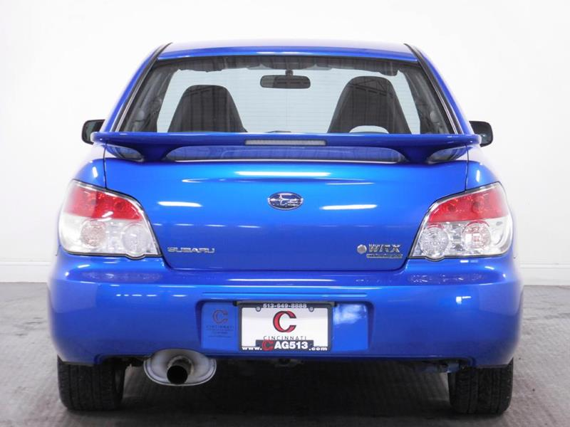 2007 Subaru Impreza for sale at Cincinnati Automotive Group in Middletown OH