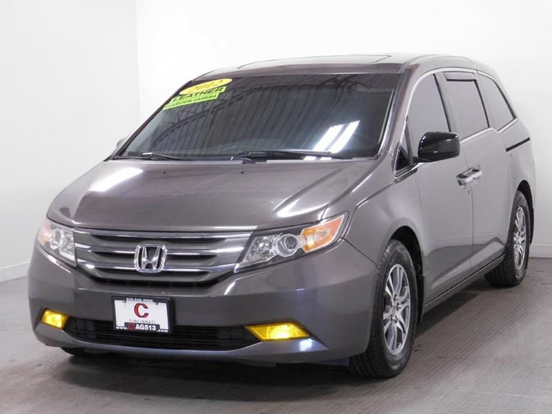 2012 Honda Odyssey for sale at Cincinnati Automotive Group in Middletown OH
