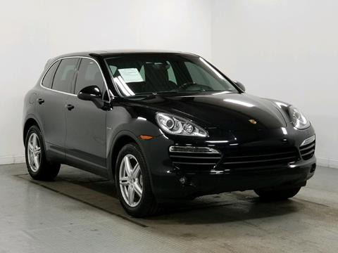 2012 Porsche Cayenne for sale at Cincinnati Automotive Group in Middletown OH