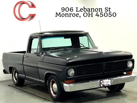 1970 Ford F 100 For Sale In Monroe Oh