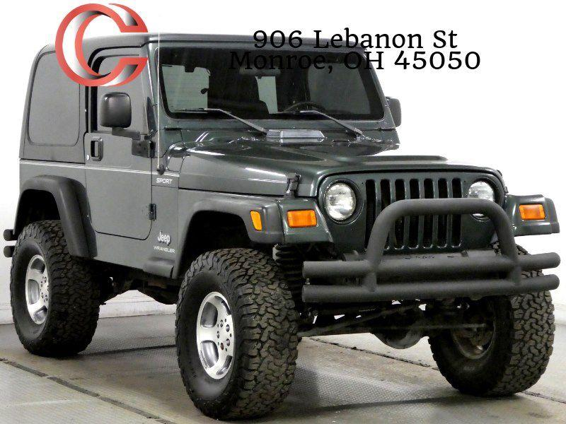2004 Jeep Wrangler For Sale At Cincinnati Automotive Group In Monroe OH